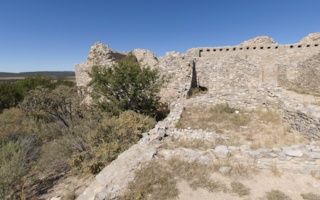 Gran Quivira Mission Church and Pueblo
